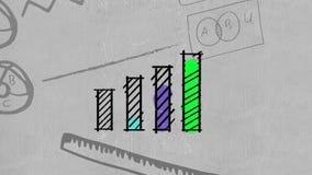 Biznesowych dane diagramy i wykresy