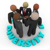 biznesowych różnorodności mężczyzna drużynowe kobiety Fotografia Stock