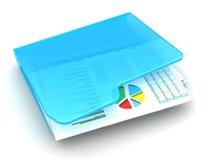 biznesowych wykresów targowy monitorowanie raportu zapas Zdjęcia Stock