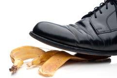 biznesu buta ślizganie Obraz Royalty Free