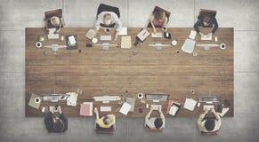 Biznesu Drużynowego spotkania technologii cyfrowej Podłączeniowy pojęcie Zdjęcie Stock