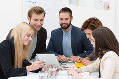 Biznesu drużynowy brainstorming Fotografia Royalty Free