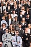 Biznesu drużynowy korporacyjny obrazy stock