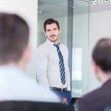 Biznesu drużynowy biurowy spotkanie Obrazy Stock