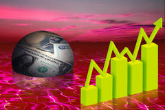 Biznesu finanse Obraz Stock