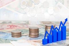 Biznesu finanse Obrazy Stock