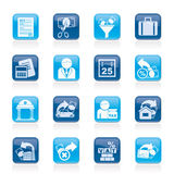 biznesu finansowi ikon podatki Fotografia Stock