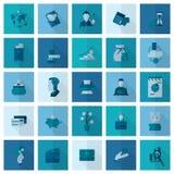 biznesu finansowy ikony set Obraz Stock