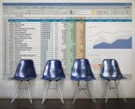 biznesu handlu dane Złączony Globalny pojęcie Obrazy Stock