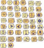 Biznesu i zarządzania Wektorowa ikona dla sieci ilustracji