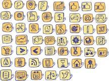 biznesu i zarządzania Wektorowa ikona dla strony internetowej ilustracja wektor