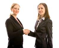 biznesu odosobnione spotkania białe kobiety Fotografia Royalty Free