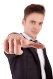 biznesu przedni mężczyzna target102_0_ Obraz Stock