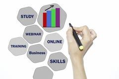 Biznesu, technologii, interneta i rzeczywistości wirtualnej pojęcie, Zdjęcie Stock