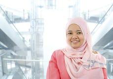 bizneswomanów muslim Zdjęcia Stock