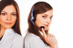 bizneswomanów potomstwa dwa Zdjęcia Stock