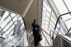 bizneswomanów schodów horyzontalnych Zdjęcie Stock