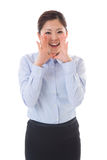 Bizneswoman Obrazy Royalty Free