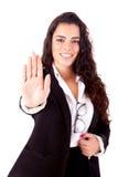 Bizneswoman Fotografia Stock