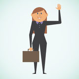 Bizneswoman ilustracja wektor
