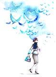 Bizneswoman ilustracji