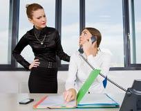 bizneswoman dwa Obrazy Stock