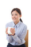 Bizneswoman młoda przerwa Zdjęcie Royalty Free