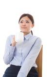 Bizneswoman młoda przerwa Zdjęcie Stock