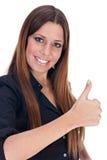 bizneswoman pomyślny Zdjęcia Stock