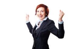 bizneswoman pomyślny Zdjęcia Royalty Free