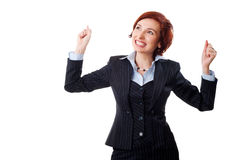 bizneswoman pomyślny Zdjęcie Stock