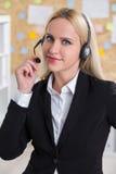 Bizneswoman przy pracą Obrazy Royalty Free