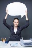 Bizneswoman przy pracą Obrazy Stock