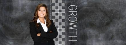 Bizneswoman przy pracą Fotografia Royalty Free
