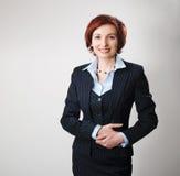 bizneswoman rudzielec Fotografia Stock