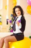bizneswoman sprawność fizyczna Zdjęcia Stock