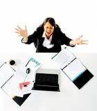 bizneswoman stresujący się Zdjęcie Stock