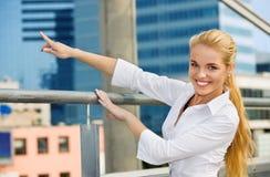 bizneswoman szczęśliwy zdjęcie royalty free
