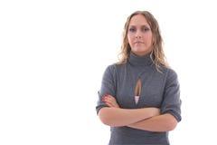 bizneswoman ufny Obrazy Stock