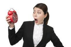 Bizneswoman w pośpiechu Obraz Stock