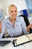 Bizneswoman w wywiadzie Zdjęcie Royalty Free