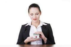 Nieruchomości pożyczka lub ubezpieczenia pojęcie Zdjęcia Stock