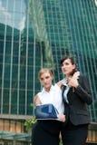 Bizneswoman Z Zdradzoną Ręką Fotografia Stock