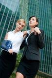 Bizneswoman Z Zdradzoną Ręką Obraz Stock
