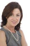 bizneswomanu atrakcyjny portret zdjęcia stock