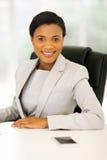 bizneswomanu biura target1647_0_ Obraz Stock