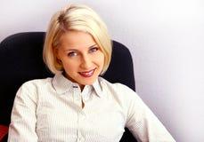 bizneswomanu biura young Zdjęcie Stock