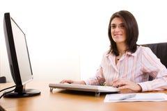 bizneswomanu biuro Fotografia Stock