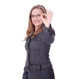 bizneswomanu caucasian potomstwa zdjęcia stock