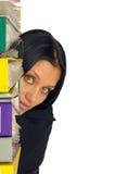 bizneswomanu dokumentów udział Fotografia Stock